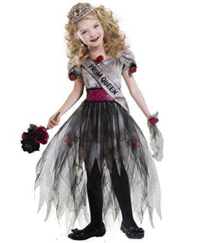 Goodmark Girls Prom Zombie Queen Costume Halloween, Large