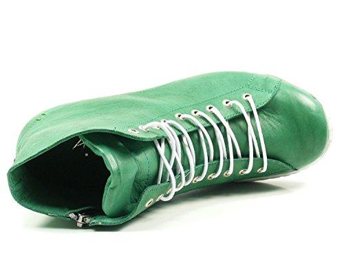 Zapatos Verde Para Mujer De Conti Andrea 0341500 Cuero 8z4xnpT8v7