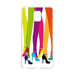 High heels CUSTOM Cover Case for Samsung Galaxy Note 4 LMc-98116 at