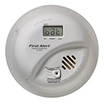 BRK Brands CO5120PDBN Hardwire Carbon Monoxide Alarm with Battery Backup and Digital Display