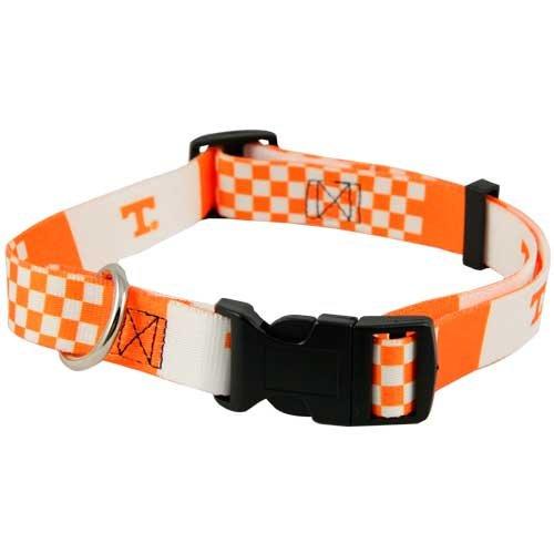 Hunter 307832 Tennessee Volunteers Dog Collar Nylon Medium