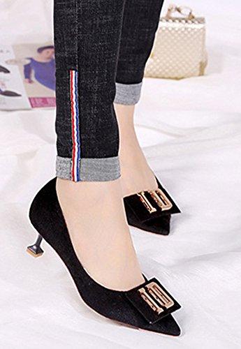 On Femme M Bout Mode Aisun Slip Pointu qXScw6x7A