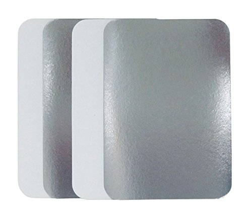 Durable Packaging Board Lid for Aluminum Oblong Pan (Pack of 500)