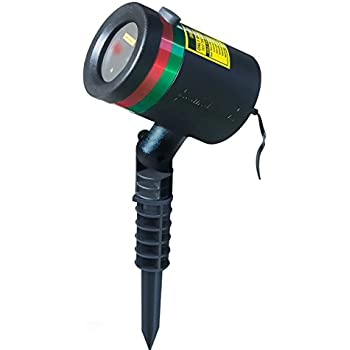 Star shower motion laser light by bulbhead indoor outdoor laser light for hassle for Star shower motion m6