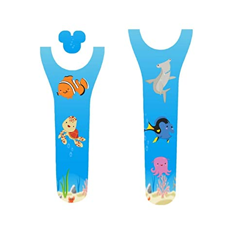 Vinyl Skin Decal Wrap Sticker Cover for the MagicBand 2 Magic Band 2 Finding Fish and Friends Themed
