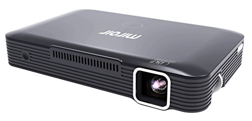 - Miroir HD Projector MP150A, LED LAMP, with Built in Rechargeable Battery, 720p and HDMI Input