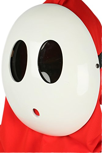xcoser Shy Guy Mask Costume Props -