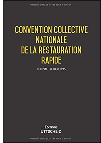 Numero Convention Collective Restauration