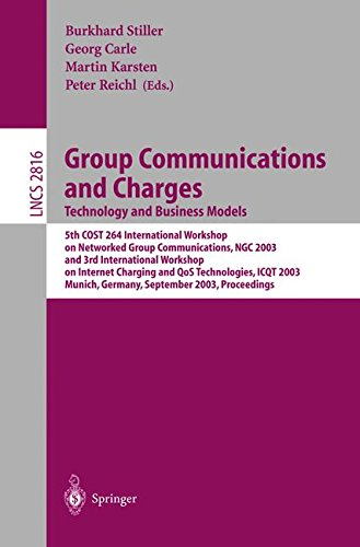 Group Communications and Charges; Technology and Business Models: 5th COST264 International Workshop on Networked Group