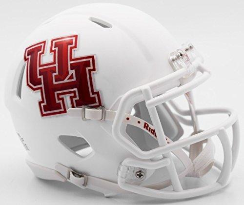 (Houston Cougars Alternate White Riddell Speed Mini Football Helmet)
