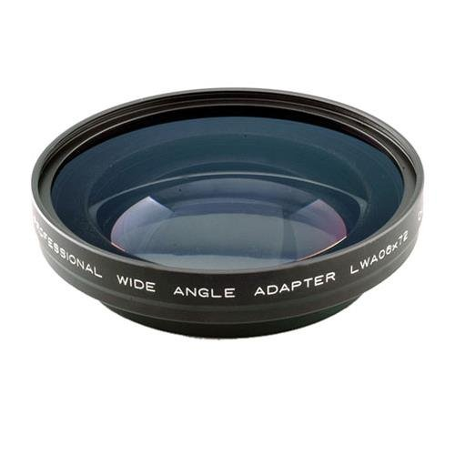 Cavision Industrial Series 0.6x Wide Angle Adapter Lens with 72mm Rear (Cavision Lens Converters)