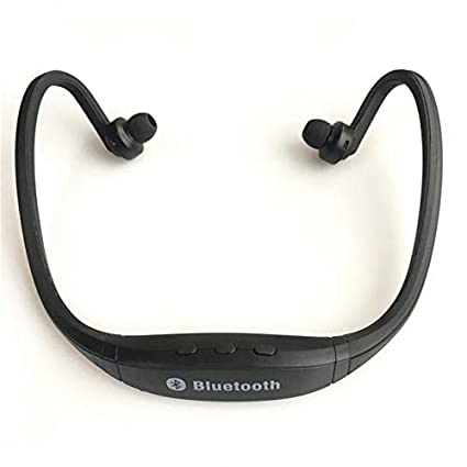 Wireless Hands-Free Auriculares Bluetooth Headphones Black NO Slot