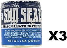 411769be7682 Sno-Seal Atsko 1330 8 Oz All Season Leather Protectant