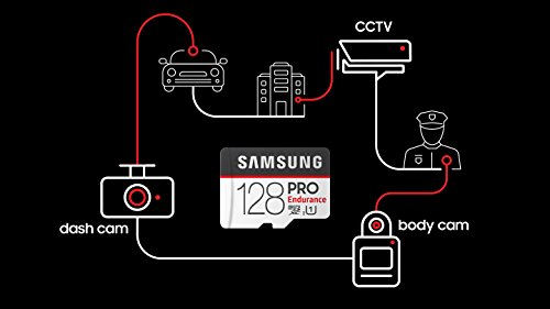 Samsung Pro Endurance 128GB Micro SDXC Card Adapter - 100MB/s U1 (MB-MJ128GA/AM) by Samsung (Image #7)