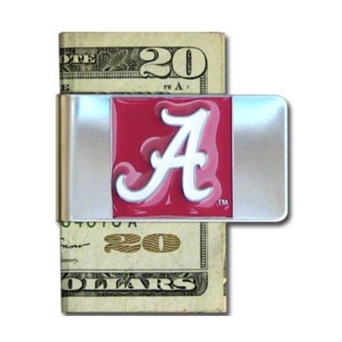 Alabama Money Clip - Alabama Crimson Tide Steel Money Clip