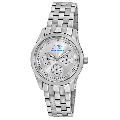 20 Diamonds Womens Watch - Diana Ladies' Diamond Stainless Steel Silver Tone Watch (Diamond)