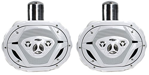 Boss MRWT69W 6x9-Inch 1100W Waketower Boat Speakers (Pair)