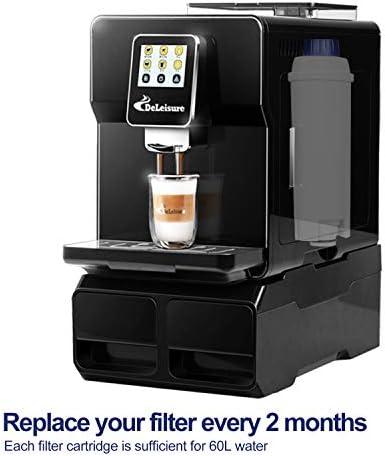 KUPVALON Filtro de la máquina de café para Delonghi DLS C002 ...
