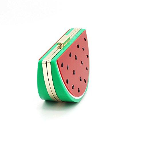 Talla Wassermelone joy Mujer B Para De Mano Blanco Cartera Beige Única WAwOxWvS8q