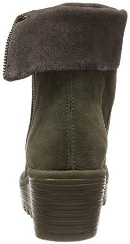 Yemi902fly Classiques Bottes chocolate London Fly Marron seaweed 008 Femme qRg4wn