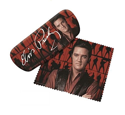 Spoontiques Elvis Presley Eyeglass Case and Cleaner (13690) ()