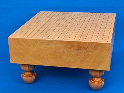 囲碁盤 本桂4寸足付碁盤 ※将碁屋ミニ椿油付き
