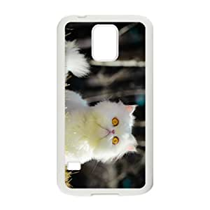 Fluffy Cat Hight Quality Plastic Case for Samsung Galaxy S5