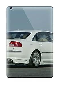 New Cute Funny Je Design A8 Rear White Black Outside Grey Brown Street Cars Audi Case Cover/ Ipad Mini/mini 2 Case Cover