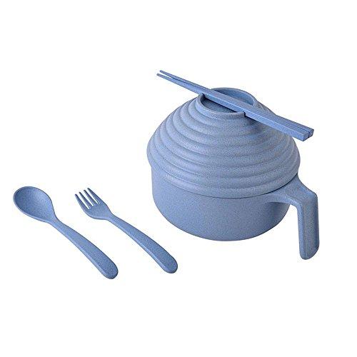 Aolvo Non Breakable Toddler Dinnerware Set, Rustic Tableware