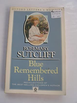 book cover of Blue Remembered Hills
