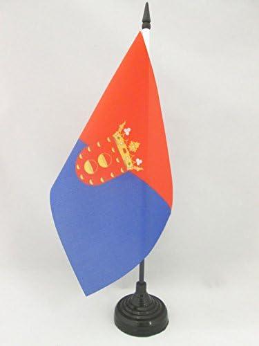 AZ FLAG Bandera de Mesa de Lanzarote 21x14cm - BANDERINA de ...