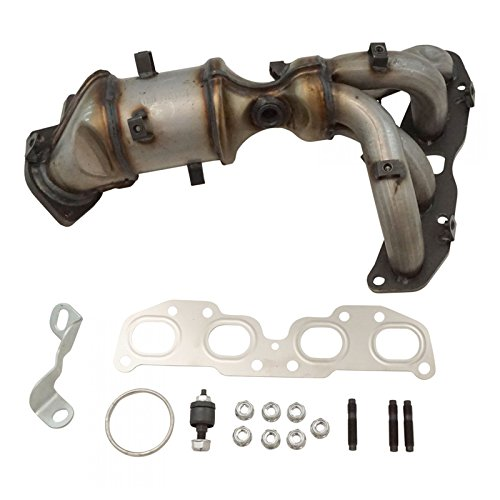 Exhaust Manifold w/Catalytic Converter & Gasket Install Kit for 07-12 Altima