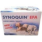 Synoquin EFA Compléments alimentaires pour chiens, pour en bonne santé Articulations, grand Courses, 120Capsules
