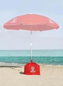 solboy – para la playa sombrilla Soporte de la pantalla (Rojo): Amazon.es: Jardín