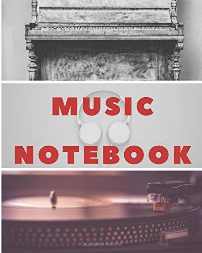 Music Notebook: Music Manuscript | Staff Paper