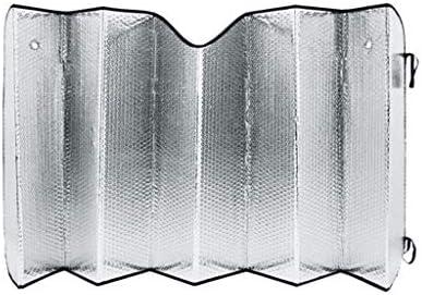 Luz de cubierta de uso de coche Sombrilla plateada, 60-80CM Refracción Luz solar dentro del automóvil Protector solar Papel de aluminio Visera solar Coche Bloque delantero Pliegue protector solar Luz: Amazon.es: Hogar