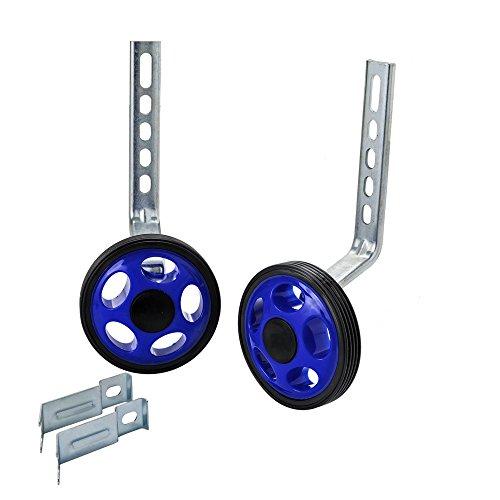 Rear Training Rubber Wheel Metal Support Bracket Extra Stabi