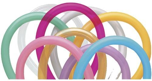 Qualatex 260Q Twisting Balloons, Entertainer Assortment - Pack of 250 Color: Entertainer Assortment Model: 77565-QUA-MB-A