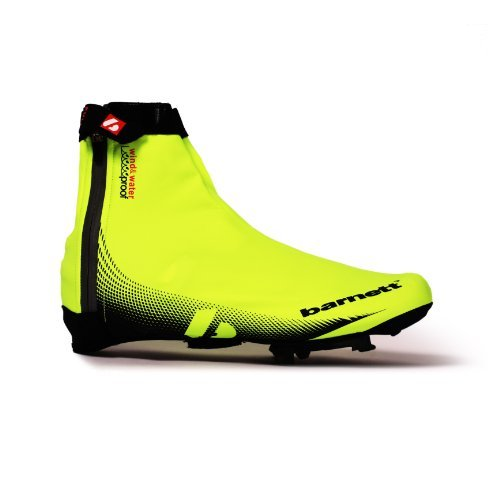 barnett BSP-05 Cycling Bike Overshoe Yellow (S) by Barnett Performance Products