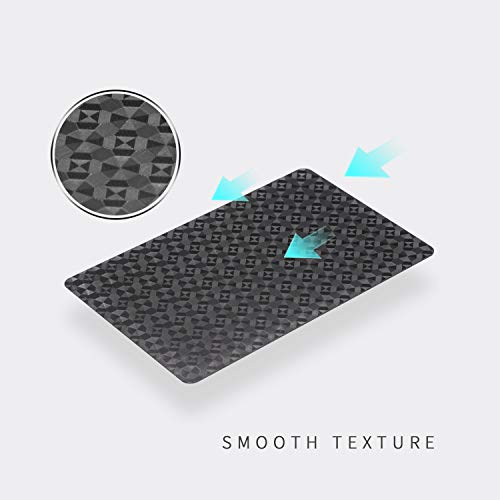 SolarMatrix Black Diamond Waterproof Playing Cards Novelty, 1 Deck of Cards, Poker Cards Deck