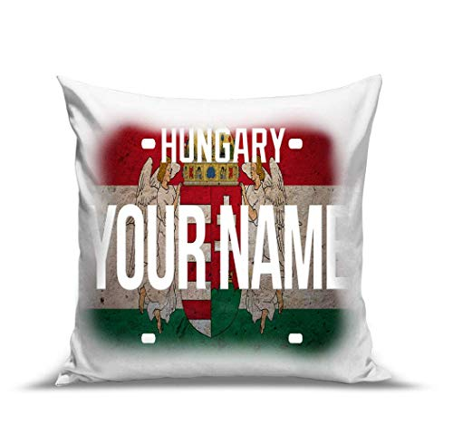 (BRGiftShop Personalize Your Own License Hungary Plate 15.75