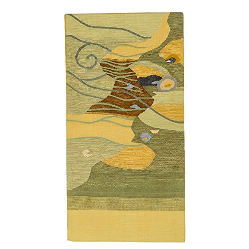 和道楽着物屋 正絹 仕立て上がり 袋帯 【つづれ織】【お仕立て済み】<br>番号d604-7 着物 レディース 和装