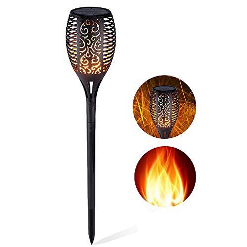 N2N Solar Lights Outdoor, Waterproof Solar Flame Torches, used for sale  Delivered anywhere in USA