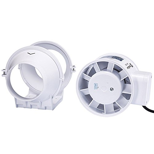 Hon&Guan 3 Inch Extractor Fan High Efficiency Mixed Flow