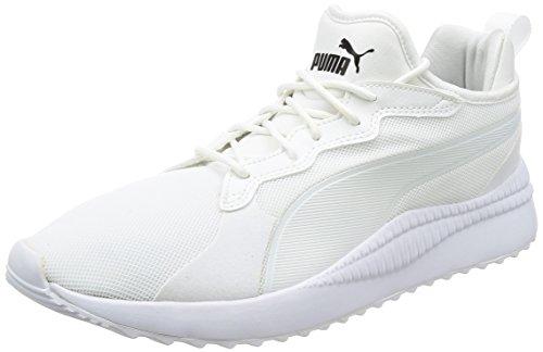 Unisexe-pumas Erwachsene Pacer Sneaker Prochain Blanc-blanc Pumas