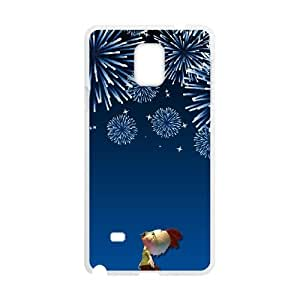Chicken Little Samsung Galaxy Note 4 Cell Phone Case White Ogopy