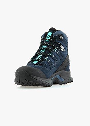 Salomon Quest Prime GTX High Rise Chaussures de randonnée pour femme, bleu, 6.5m US bleu