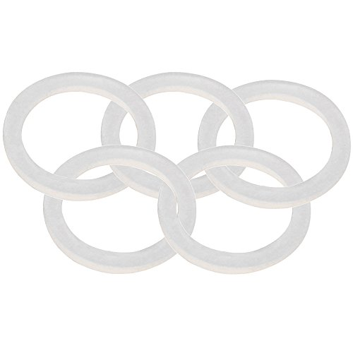 (Dernord Silicone Gasket Tri-Clover (Tri-clamp) O-Ring - 2 inch (Pack of 5))