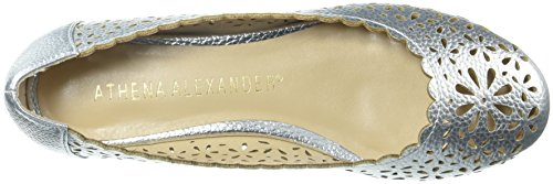 cheap official site discount browse Athena Alexander Women's Annora Ballet Flat Silver TNUwLvbq7O