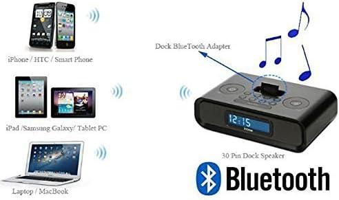Mondpalast Wireless Bluetooth A2dp Musik Empfänger Audio Adaptor Receiver Für 30 Pin Ipod Ipad Iphone Dock Lautsprecher Sounddock Mp3 Hifi